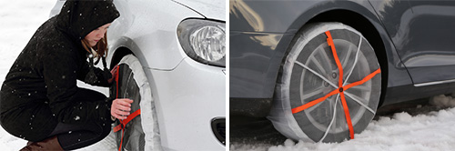 Autosock Snow Socks Car Tyre Textile Snow Socks