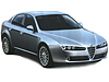 Alfa Romeo 159 four door saloon (2006 to 2012)