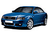Audi A4 four door saloon (2001 to 2005)  not gas discharge:also known as - Audi S4 four door saloon