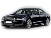 Audi A8 four door saloon (2010 onwards)