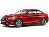 BMW 2 series coupe (2014 onwards) :