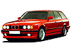 BMW 5 series Touring (1992 to 1997)