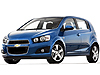 Chevrolet Aveo five door (2011 onwards)  :
