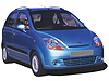 Chevrolet Matiz five door (2005 to 2011)