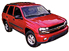Chevrolet Trailblazer (2002 to 2009)  with T track slots: