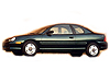 Dodge Neon two door saloon (1995 to 1998)  :