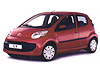 Citroen C1 five door (2005 to 2014)  :