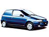 Fiat Punto van (1994 to 1999)  with opening rear windows: