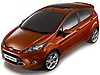 Ford Fiesta five door (2008 onwards)  :
