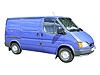 Ford Transit L1 (SWB) H1 (low roof) (1986 to 2000) :also known as - Ford Transit SWB low roof