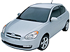 Hyundai Accent three door (2006 to 2010)
