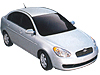 Hyundai Accent five door (2006 to 2010)  :also known as - Hyundai Verna five door