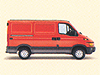 Iveco Daily SWB low roof (1999 to 2006)  low roof:also known as - Iveco Daily SWB (5077mm) low roof