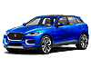 Jaguar F-Pace (2015 onwards)  for cars with flush mounted roof rails: