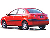Kia Rio four door saloon (2005 to 2011) :