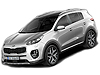 Kia Sportage five door (2016 onwards)  :