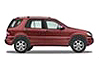Mercedes Benz M Class (1998 to 2002)  :also known as - Mercedes Benz ML Class (W163)