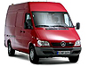 Mercedes Benz Sprinter L1 (SWB) H2 (high roof) (1996 to 2006)  high roof:also known as - Mercedes Benz Sprinter SWB high roof
