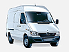 Mercedes Benz Sprinter  L1 (SWB) H1 (low roof) (1996 to 2006) :also known as - Mercedes Benz Sprinter SWB low roof