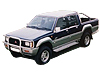 Mitsubishi L 200 double cab (1983 to 1996)  :also known as - Mitsubishi Strada double cab