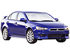 Mitsubishi Lancer four door saloon (2008 onwards)  :