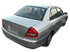 Mitsubishi Lancer four door saloon (1996 to 1999)  :also known as - Mitsubishi Mirage four door saloon