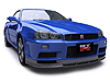 Nissan GT-R (1999 to 2006)  :also known as - Nissan Skyline GT-R R34