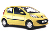 Peugeot 107 five door (2005 to 2014)