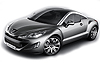 Peugeot RCZ coupe (2010 onwards)  :also known as - Peugeot 308 RCZ coupe