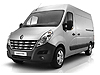 Renault Master L2 (MWB) H2 (high roof) (2010 onwards) :also known as - Renault Master MWB medium roof with long rear overhang