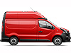 Renault Trafic L1 (SWB) H2 (high roof) (2014 onwards) :