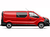 Renault Trafic L2 (LWB) H1 (low roof) (2014 onwards)