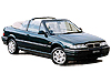 Rover 200 cabriolet (1993 to 1998)  Fitting kit C (52642) is required. Max 203km/h.: