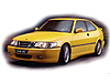 Saab 900 three door coupe (1994 to 1997) :