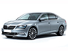 Skoda Superb four door saloon (2015 onwards)