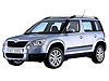 Skoda Yeti (2009 onwards) does not fit vehicles with the variable boot floor: