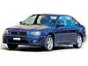 Subaru Legacy four door saloon (1999 to 2003) :also known as - Subaru Liberty four door saloon