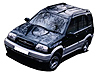 Suzuki Grand Vitara five door (1998 to 2005)