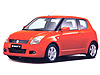 Suzuki Swift Sport three door (2005 to 2012)