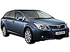Toyota Avensis Tourer (2009 onwards)  with fixing points:also known as - Toyota Avensis estate