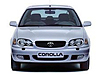 Toyota Corolla three door (2000 to 2002)  :