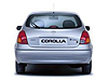 Toyota Corolla five door (2000 to 2002)  :