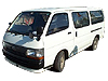 Toyota HiAce H1 (low roof) (1983 to 1995)