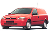 Vauxhall Astravan (1998 to 2006)  for cars with roof rails: