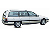 Vauxhall Carlton estate (1987 to 1995)  :also known as - Vauxhall Carlton/Omega A estate