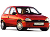 Vauxhall Corsa (1993 to 2001)  :also known as - Vauxhall Corsa B