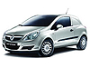 Vauxhall Corsa van (2007 to 2015)  with rear wiper disabled:also known as - Vauxhall Corsa D van