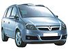 Vauxhall Zafira (2005 onwards)  :