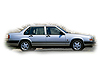 Volvo 940 four door saloon (1990 to 1996)  :also known as - Volvo 944 saloon