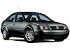 Volkswagen VW Bora four door saloon (1999 to 2006)